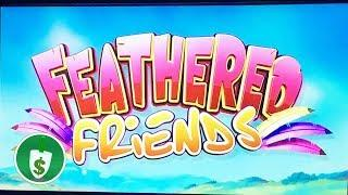 •  Feathered Friends slot machine, Bird bonus