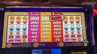 Big Win•Triple Cash Dollar Slot Machine on free play, San Manuel, Akafuji Slot, スロット, カルフォルニア カジノ,