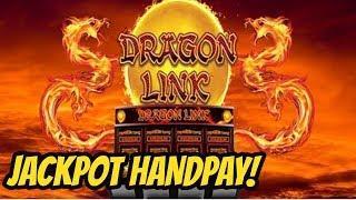 JACKPOT HANDPAY-DRAGON LINK SLOT MACHINE