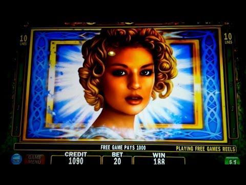 Golden Goddess Slot Machine Jackpot - $20 Bet Bonus - The Goddess!
