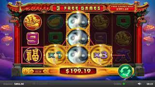 Sheng Cai You Dao slots - 687 win!