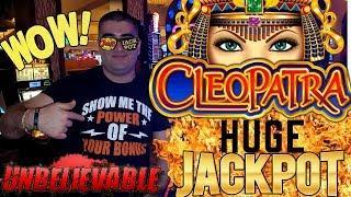 High Limit CLEOPATRA 2 Slot Machine HUGE HANDPAY JACKPOT | Season 9 | Episode #11