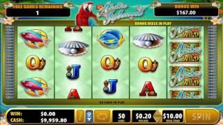 Aloha Island slot - 412 win!