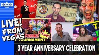 • LIVE • 3 Year Anniversary Special• $1450++ @ Cosmo Las Vegas • BCSlots