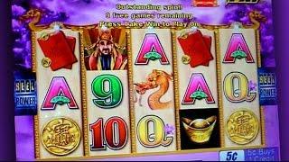 Choy Sun Returns Bonus - 5c Aristocrat Video Slots