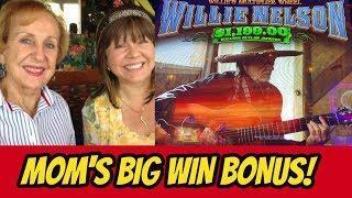 WILLIE LIKES MOM THE BEST! BIG WIN BONUS & MORE