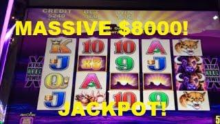 MASSIVE $8000 JACKPOT!!!! CHECK IT OUT!