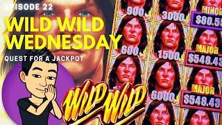 ⋆ Slots ⋆WILD WILD WEDNESDAY!⋆ Slots ⋆ QUEST FOR A JACKPOT [EP 22] ⋆ Slots ⋆ TARZAN GRAND Slot Machi