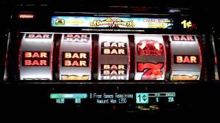 Hawaian Goddess slot machine bonus win at Sands Casino