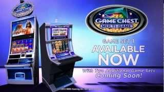 GAME CHEST MULTI-GAME™ Game Set 1 Slot Machines By WMS Gaming