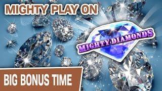 ⋆ Slots ⋆ Mighty Amazing Slot Play on Mighty Diamonds ⋆ Slots ⋆ Lock It Link: La Sirena on the Las Vegas Strip