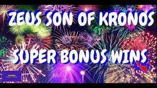 MULTI BONUS WINS!! ZEUS SON OF KRONOS SLOT WINS!!