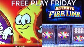 Ultimate Fire Link Slot * Hot Hot 8 * Free Play Friday sucess, big win or bust ?