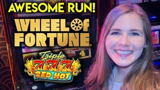 So Many Gold Spins! Fantastic Session Of High Limit Wheel Of Fortune Gold Spin!