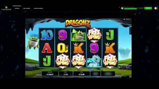 Dragonz Slot - Sticky Wilds Free Spins - Microgaming