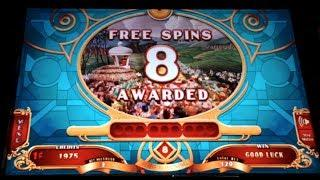 RUBY SLIPPERS 2 | WIZARD OF OZ - WMS - Free Spins Slot Bonus *NEW GAME*