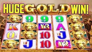 •HUGE GOLD WIN!• -• BUFFALO GOLD SLOT • - 'COME ON! - Slot Machine Bonus