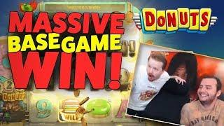 Donuts - Big base game win!