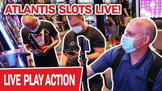 ⋆ Slots ⋆ ATLANTIS SLOTS LIVE! ⋆ Slots ⋆ We Are About to CRUSH High-Limit Slots in RENO!