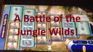 Head To Head Jungle Wild Slot Machine Bonus Battle! ~ WMS