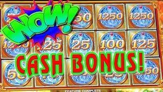 CASH BONUSES • MY FAVORITE BONUSES • MIGHTY CASH • CASH SPIN DELUXE • GOLDSLINGER