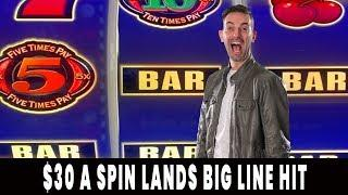 ★ Slots ★ $30/Spin HIGH LIMIT Hits BIG ★ Slots ★ BONUS TIMES! ★ Slots ★ Agua Caliente Palm Springs #