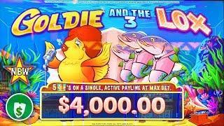•️ New - Goldie and the 3 Lox WA VLT slot machine, bonus