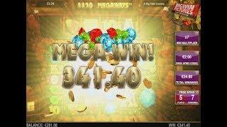 Bonanza Slot (BTG) - Free Spins 2€ Bet!