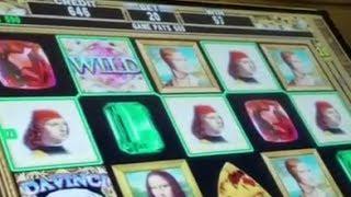 9 MINUTES OF HIGH LIMIT DAVINCI DIAMONDS Slots