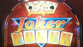UK Video Poker - Joker Poker - Find the Lady - (Peter Bianchi and Jack TheArcademaster Shoutout)