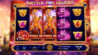 Battle for Cosmos Online Slot from GameArt