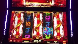 Dragons Temple £5 max bet bonus, can I get the £10k jackpot again??
