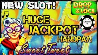 •NEW SLOT Drop & Lock Sweet Tweet •HIGH LIMIT JACKPOT HANDPAY on $25 BONUS ROUND LOCK IT LINK •