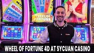 •Wheel Of Fortune 4⃣D Slot Machine • with Brian Christopher at Sycuan Casino #AD