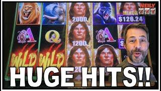 TERRIFIC TARZAN WINS! ★ Slots ★ AND A HUGE HIT ON BUFFALO GOLD! BIG WINS ON SLOTS!