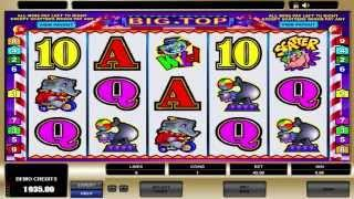 FREE Big Top ™ Slot Machine Game Preview By Slotozilla.com