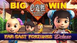 BIG WIN!! - Winning Fortune Progressives - FAR EAST FORTUNES DELUXE - Slot Machine Bonus