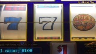 BIG WIN- Triple Cash $1 Slot, Blazing 7s $1 Slot at San Manuel Casino [アカフジ] [スロット機] カルフォルニア カジノ
