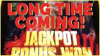 • Long Time Coming • • JACKPOT BONUS on Walking Dead  • • Slot Fruit Machine w Brian Christopher