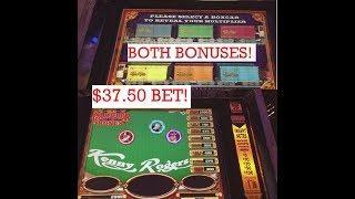 $800 HIGH LIMIT KENNY ROGERS SLOT MACHINE! CHASING THE BONUS!