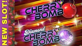 NEW SLOT! ⋆ Slots ⋆DIAMOND CHERRY BOMB⋆ Slots ⋆ My Live Play   Reel Rush Bonus!