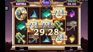 Wild Scarabs Online Slot from Microgaming with Stashed Wilds in Free Spins