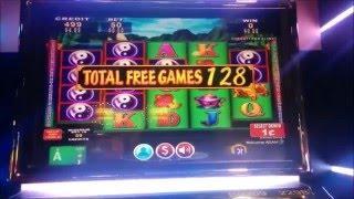 China Shores 160 Free Spins Slot Machine Bonus