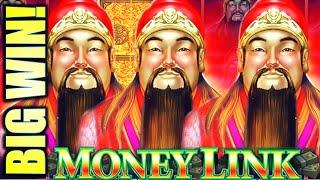 •BIG WIN!! FULL SCREEN LOCKED & LOADED!• MONEY LINK - THE GREAT IMMORTALS Slot Machine (SG)