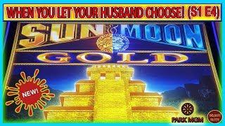 NEW! WHEN YOU LET YOUR HUSBAND CHOOSE! TURNING $900 FREEPLAY INTO PROFIT! SUN & MOON GOLD (S1 - Ep4)