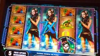 "Big Win! ""Mystical Bayou"" Slot Machine"