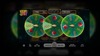 Fruit Spin Online Slot from NetEnt - Lucky Wheels & Free Spins Feature!