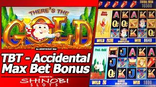 There's the Gold Slot - TBT Accidental Max Bet Bonus and a 2nd Free Spins Feature