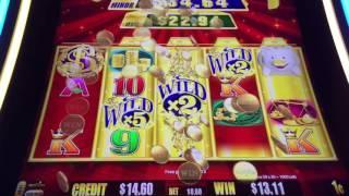 GOLD BONANZA Slot Machine BIG WIN Bonus Minus Last Spin