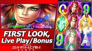 Jungle Princess Slot - First Look, Live Play and Free Spins Bonuses